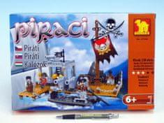 Dromader Stavebnice Dromader Piráti 238 dílků
