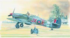 SMĚR Hawker Hurricane MK.II