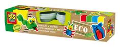 SES ECO- Jemná keramická plastelína-4x90g