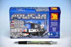 Dromader Stavebnice Dromader Policie Auto 23201 58 ks