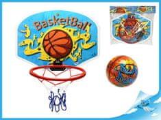 Mikro Trading Basketbalový koš 34x25,3cm s míčem