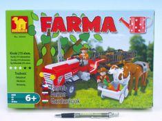 Dromader Stavebnice Dromader 28505 Farma 215 dílků