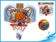 Mikro Trading Basketbalový koš 41x31cm s míčem