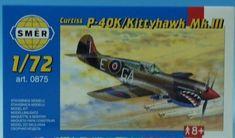 SMĚR Curtiss P - 40K 1:72