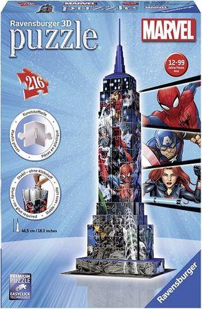 Ravensburger 3D Puzzle Empire State Building Marvel Avengers