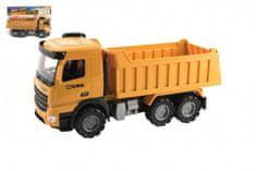 Teddies Auto nákladní plast na volný chod 38cm v sáčku