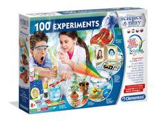 Clementoni Dětská laboratoř - 100 vědeckých experimentů