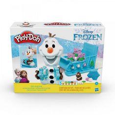 Play-Doh Olaf a sněhové kreace