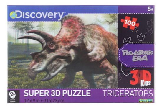 Lamps 3D Puzzle Triceratops 100 dílků