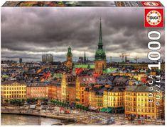 EDUCA Puzzle 1000 dílků - Stockholm