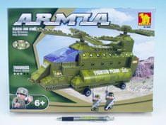 Dromader Stavebnice Dromader Vojáci Vrtulník 22602, 308 dílků