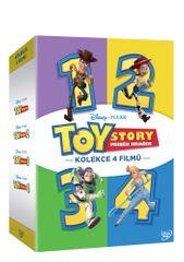 Toy Story: Příběh hraček - Kolekce 1-4 (4DVD) - DVD