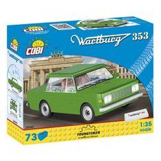 Cobi 24542 YTC Wartburg 353, 1:35 73k