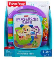 Fisher-Price L & L knjigica Pravljične rime, slovenščina