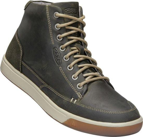 KEEN Glenhaven Sneaker Mid M Dark Olive/Black Olive 43