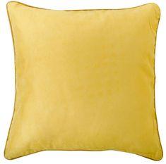 My Best Home Párna szegéllyel BRIGHT 40×40 cm, sárga