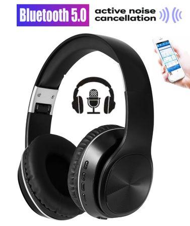 Platinet Freestyle FH0925B naglavne Bluetooth 5.0 slušalke, Active Noise Cancelling, črne