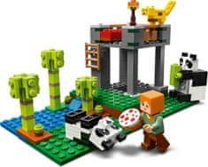 LEGO zestaw Minecraft 21158 Żłobek dla pand