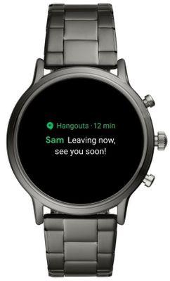 Chytré hodinky Fossil FTW4024, bezkontaktní platyb NFC Google Pay integrovaný hudební přehrávač, přehrávání hudby, elegantní design, funkce najít telefon, telefonování