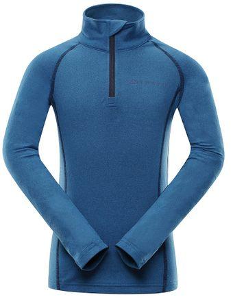 ALPINE PRO funkcionális fiú póló NEVEO 4116 - 122, kék