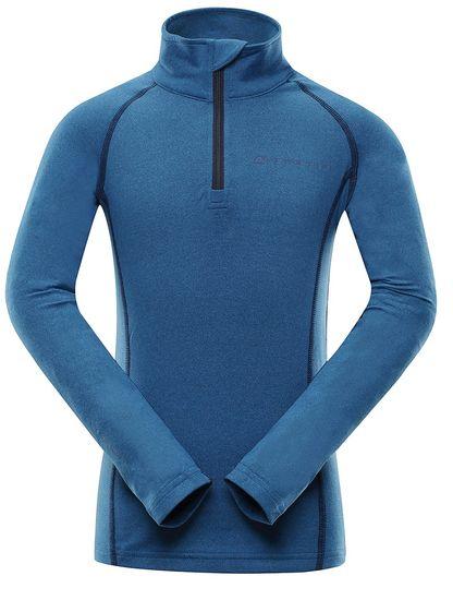 ALPINE PRO chlapecké funkční tričko NEVEO 4 104 - 110 modrá