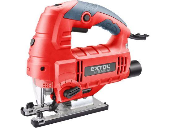 EXTOL Pila přímočará s laserem a světlem, 800W EXTOL PREMIUM 8893103