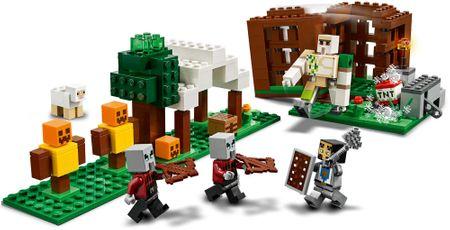 LEGO zestaw Minecraft 21159 Kryjówka rozbójników