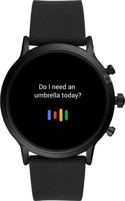 Smartwatch Fossil FTW4025, płatności zbliżeniowe, NFC, Google Pay, wbudowany odtwarzacz muzyczny, odtwarzanie muzyki, elegancki design, funkcje telefonu, wykonywanie połączeń