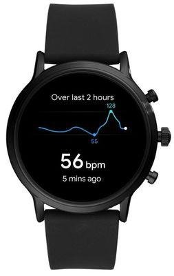 Smartwatch Fossil FTW4025, wodoodporny, mierzy tętno, liczy kroki i spalone kalorie, odległość, GPS