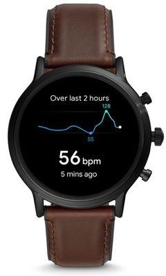 Chytré hodinky Fossil FTW4026, vodotěsné, měření tepu, tepová frekvence, kroky, spálené kalorie, vzdálenosti, GPS