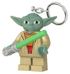 LEGO Star Wars Yoda so svetelným mečom svietiace figúrka