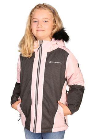 ALPINE PRO Lány kabát DORO, 140 - 146, rózsaszín