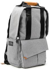 """PKG nahrbtnik Rosseau Backpack (PKG-ROSS-LG01TN), 13"""" (33 cm)/14"""" (35,56 cm), svetlo siv"""