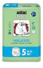 MUUMI BABY pieluchomajtki Walkers roz. 5 MAXI+ (10-15 kg) 38 szt.