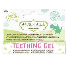 Jack N´ Jill Jack N'Jill Gél na prerezávajúce so zúbkami 15g