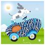 3 - Slipstop Show Dog fiú tutyi SS18120157, 21-23, kék