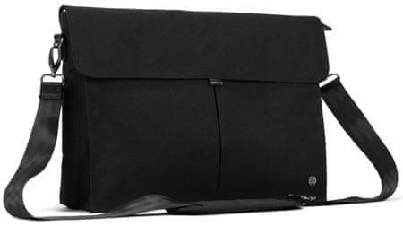 "PKG nahrbtnik Yorkville Laptop Messenger, 15"" (38,1 cm)/16"" (40,6 cm) (PKG-YORK-BK01BK), črn"