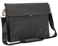 "PKG nahrbtnik Yorkville Laptop Messenger, 15"" (38,1 cm)/16"" (40,6 cm) (PKG-YORK-GY01TN), temno siv"
