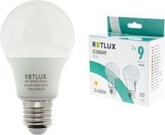Retlux REL 20 LED A60 2 x 9 W E27