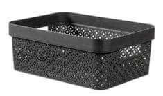 CURVER pudełko do przechowywania Terrazzo M, czarny