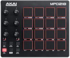 Akai MPD 218 USB/MIDI kontrolér