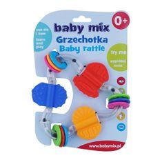 Baby Mix Detské hrkálka Baby Mix farebný trojuholník Podľa obrázku