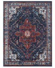 NOURISTAN Kusový koberec Lugar 104091 Midnight Blue
