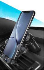 Omega Ouchavs držač za pametni telefon, za u auto, crni