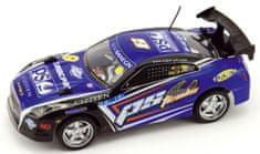 Teddies Auto RC 25cm plast zrýchľujúci 1:18 na batérie 27MHz