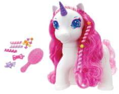 Alltoys Jednorožec Sparkle Girlz - bílá/růžová