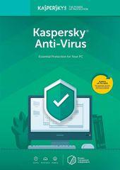 Kaspersky Anti-Virus 2019 CZ pro 1 zařízení na 12 měsíců (KL1171XCAFS) - Elektronická licence