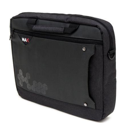 """MAX torba za prenosnik 15,6""""/39,62 cm, črna"""
