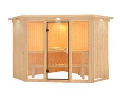 KARIBU fínska sauna KARIBU FLORA 2 (52953)