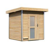 KARIBU fínska sauna KARIBU TORGE (86196) s predsieňou